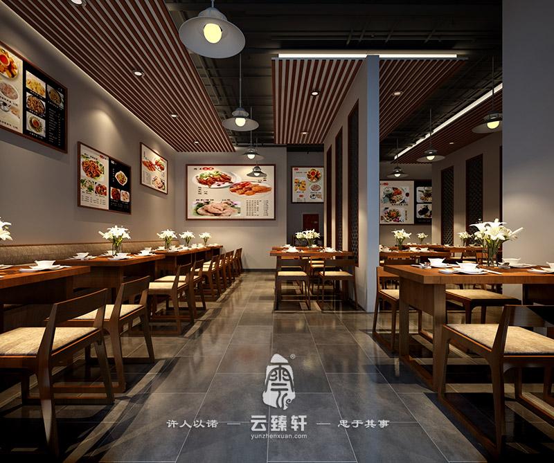 中餐厅设计_中式装修_中式设计