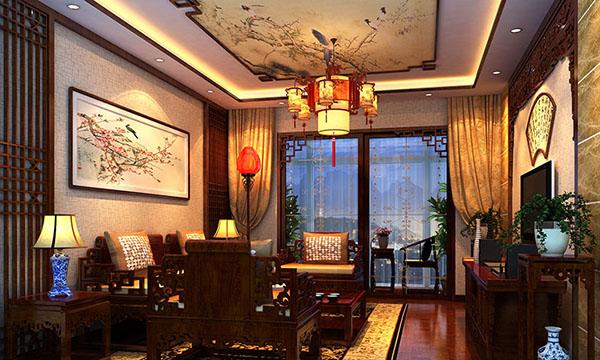 北京顺义李先生古典中式室内装修效果图