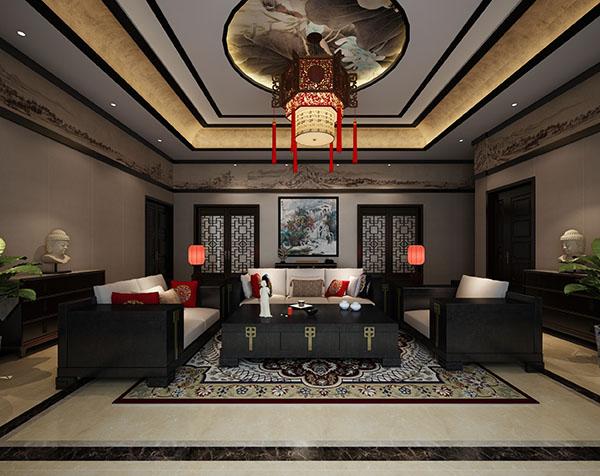 此北京四合院內部裝修設計上,還是以中式風格為主,根據業主的要求,設計此案例如下。 四合院的中堂用木格柵、木質裝飾、花開富貴等...