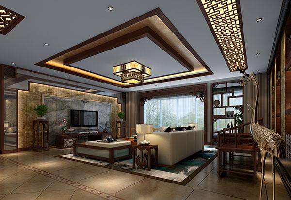 简约中式家装效果图装修