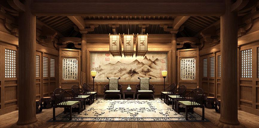 北京云臻轩装饰设计公司-最新中式装修效果图大全