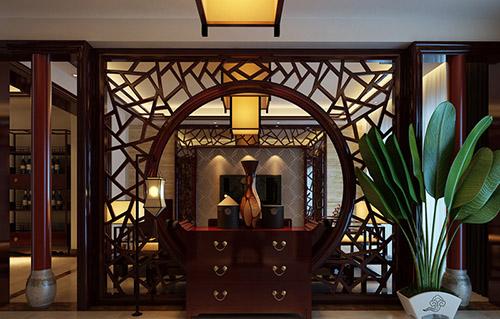中式家装设计装修效果图-北京云臻轩中式装修设计公司
