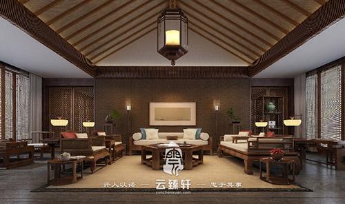四合院装修设计效果图|案例-北京云臻轩中式装修设计