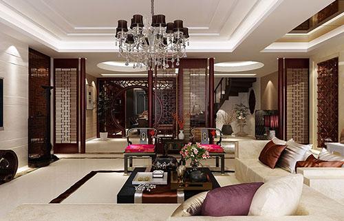 中式家装设计装修效果图-北京云臻轩中式装修设计