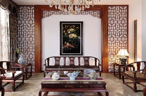 具有东方之美的古典中式风格别墅设计装修效果