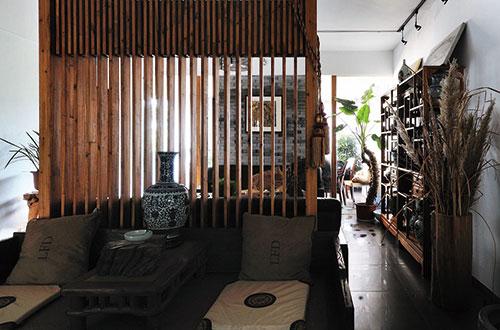 上饶静与动的中式办公室设计装修案例