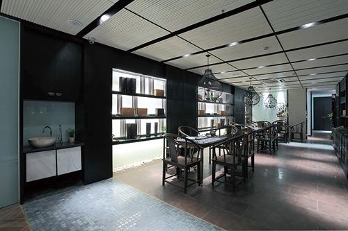 150平米茶禅一体温婉儒雅茶楼设计案例