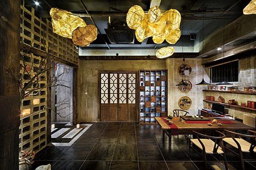 苏州古朴优雅的茶会所装修效果案例