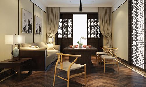 中式茶室装修效果图大全-北京云臻轩中式装修设计公司