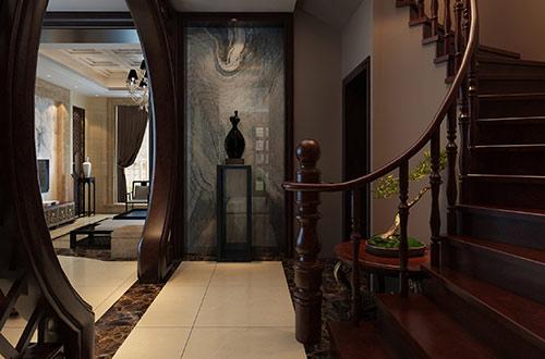 楼梯口玄关处装修效果图