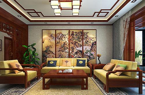 温州古朴温馨的古典中式风格装修效果图