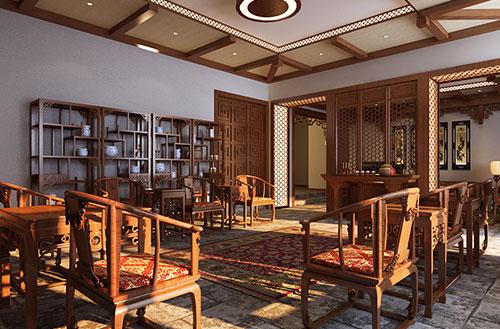 常州古色古香的别墅古典装潢案例