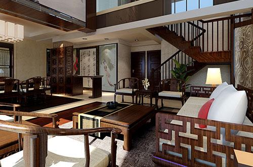苏州简约大气的古典中式别墅装修风格