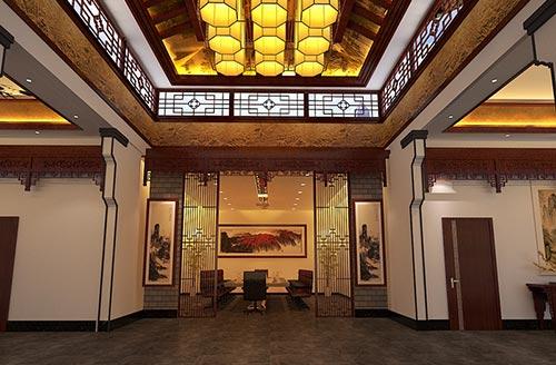 四合院楼梯设计图展示图片