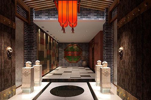 古色古香的饭店中式装修案例