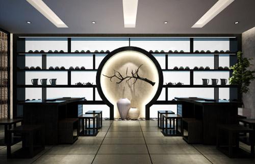 茂名新中式茶楼装潢案例