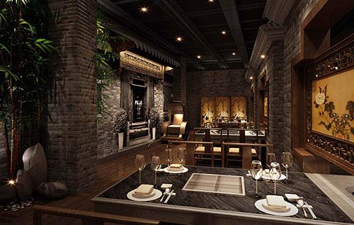 中式餐厅装修设计的要点是什么?