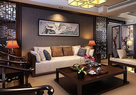 北京新古典装修的三居室