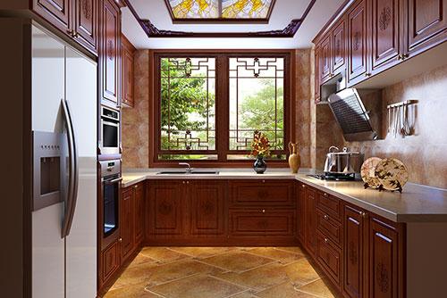 平层住宅中式厨房装修效果图