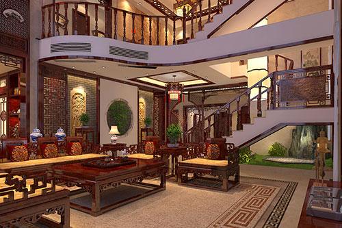 佛山中式别墅设计|被自然山水温润的大美之居