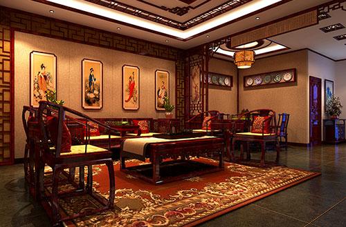 蓟县古典中式家装设计从诗词画境中走出来的文人空间