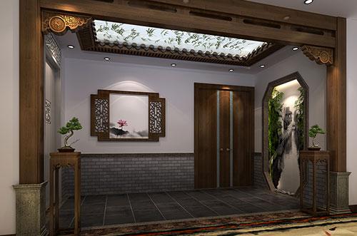 兰州醉在江南绝色里的中式设计宾馆效果图