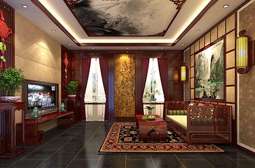 宜兴新中式风格家装设计——居尘