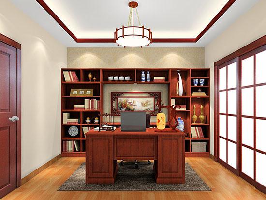 极简装修风格书柜