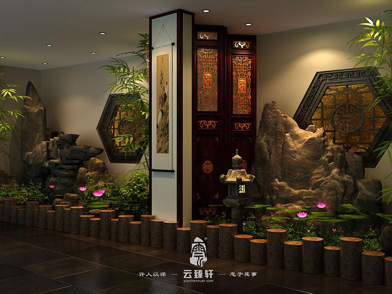 中式设计餐厅中式装修新中式餐厅图片