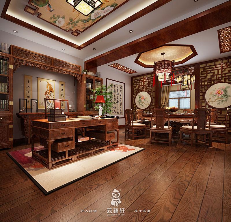 中式设计展厅——红木家具不一样的体验馆