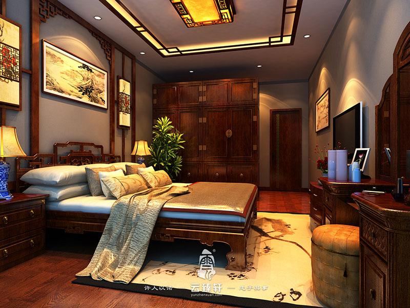 现代中式装修样板房 现代与中式的完美高清图片