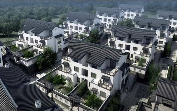 新中式建筑设计图片