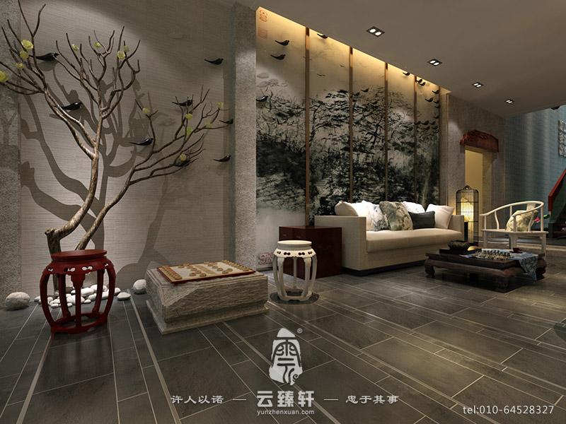 新中式酒店大堂设计方案