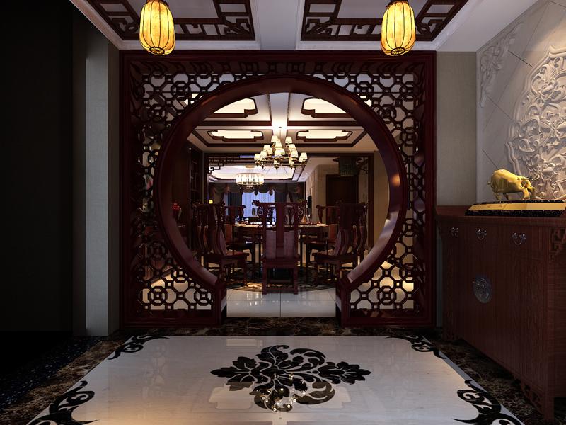 北京中式古典设计家装案例欣赏