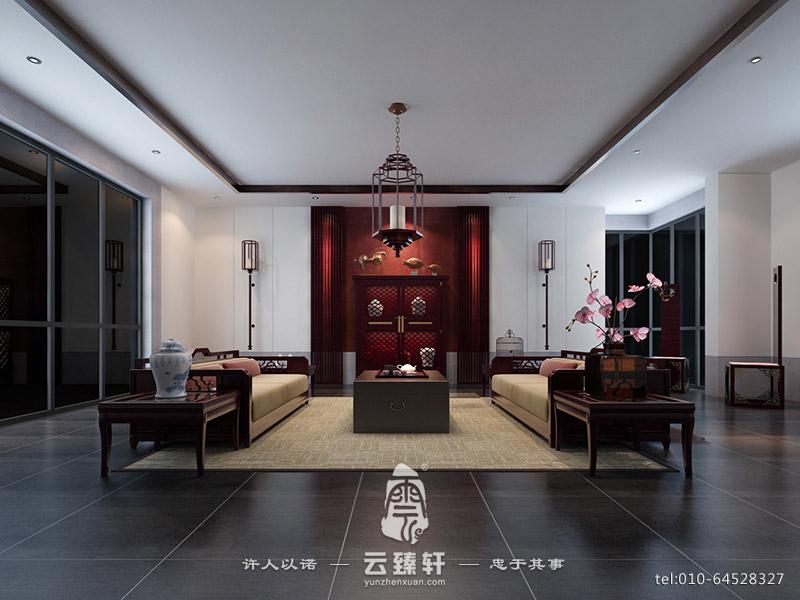 如何打造现代中式设计简约客厅