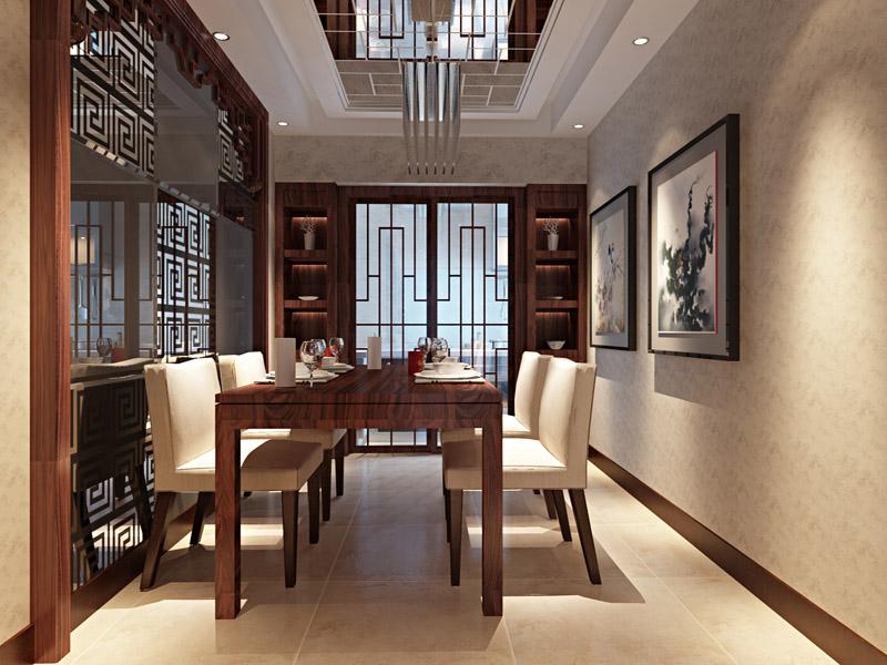 现代中式设计餐厅