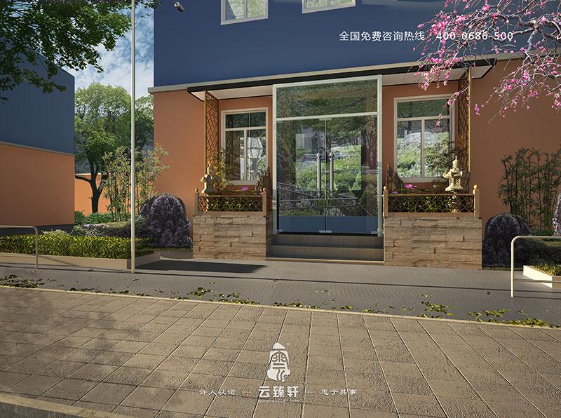 北京煤气热力工程设计院中式茶室装修效果图