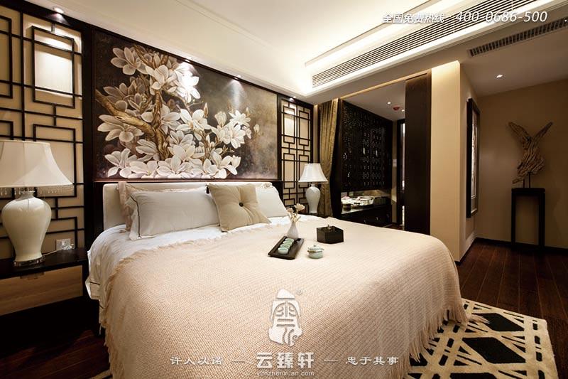 时尚淡雅的别墅中式装修_北京云臻轩中式设计公司