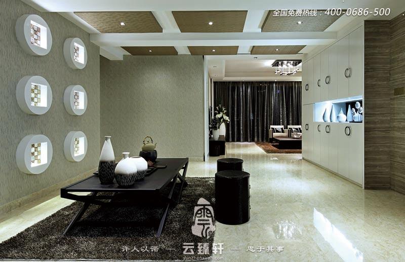 茶室客厅新中式气派优雅风格装修