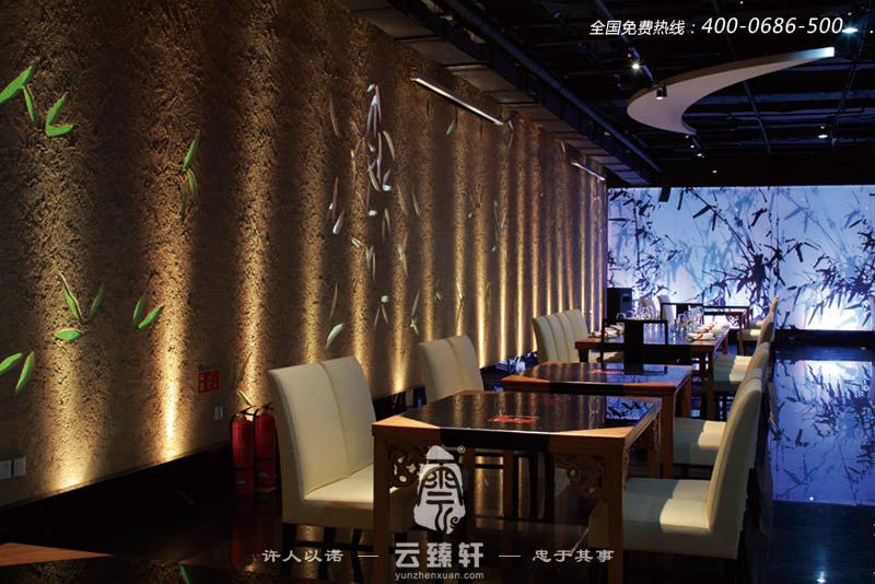 充满东方文化的中式餐厅设计效果图