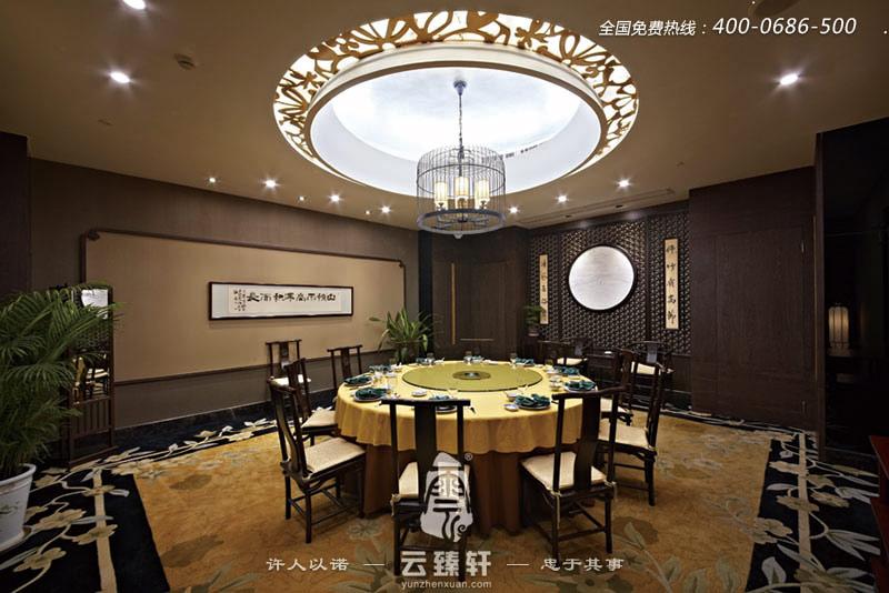 2016宫廷般气派的中式餐厅效果图高清图片