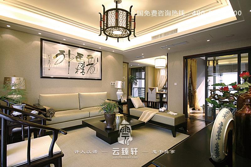 重庆153平米新中式风格设计效果图