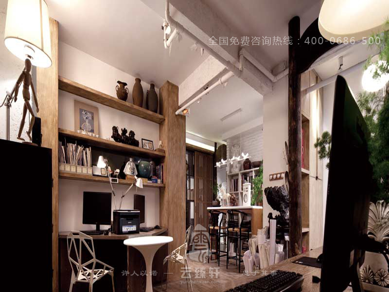 工作室的中式装修设计