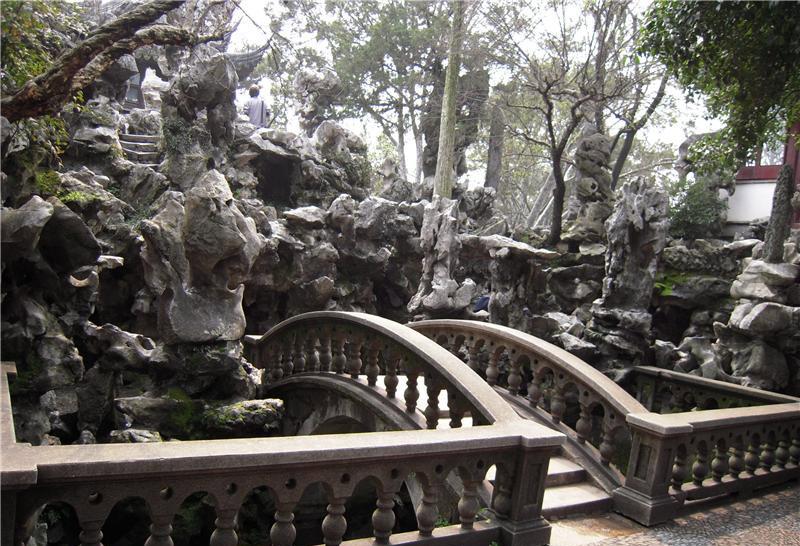 苏州中式古典园林——狮子园建筑特色