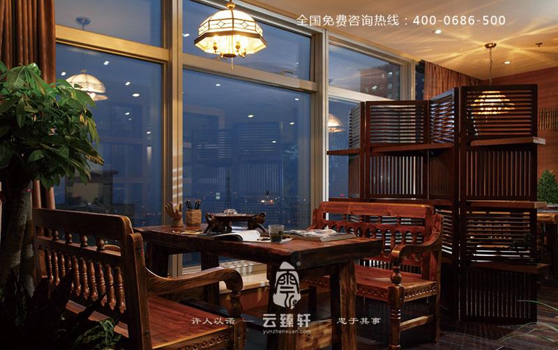 南京复古中国风办公室设计案例