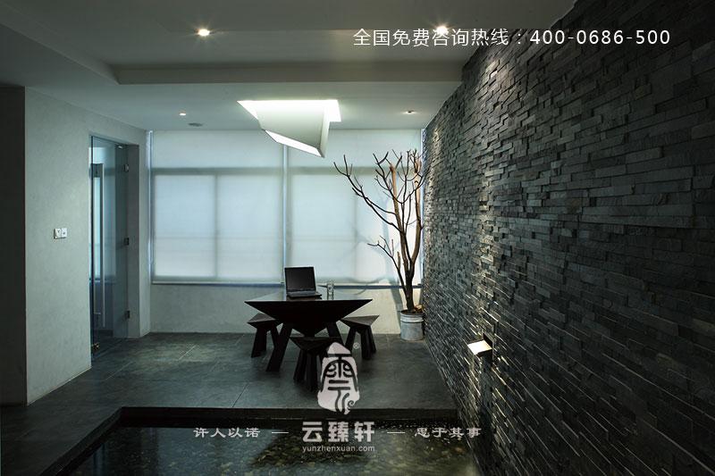 朴素淡雅的新中式风格办公室装修案例