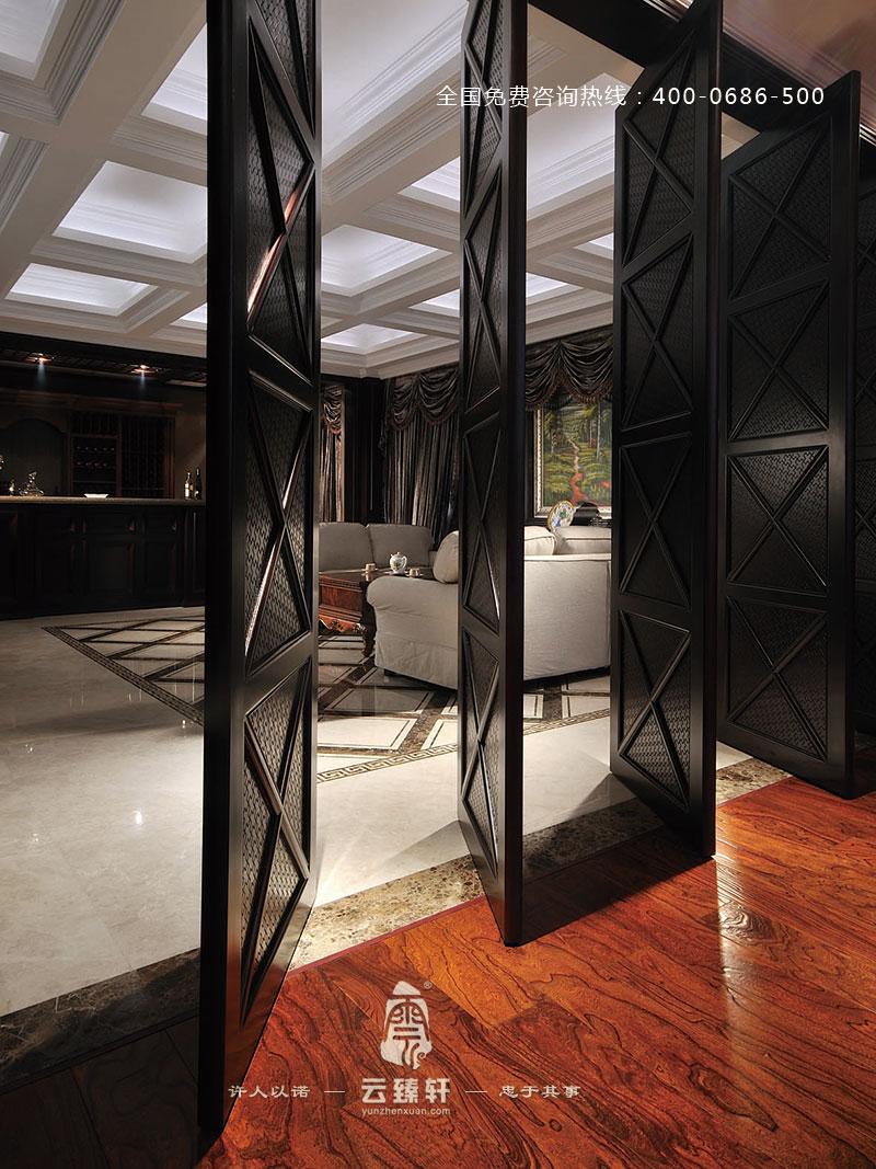 上饶高贵的中式风格办公室装修效果图