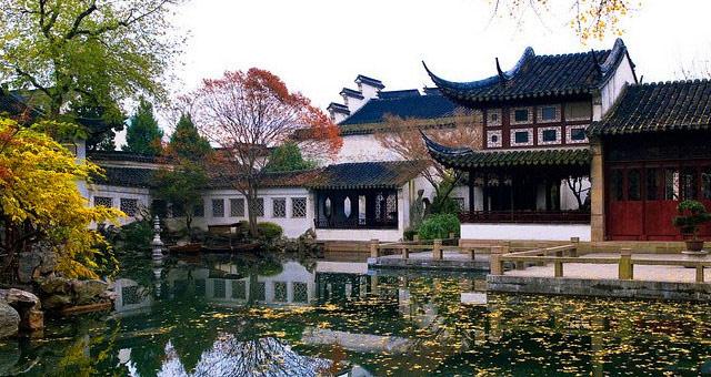 中式建筑设计苏州园林的布局_北京云臻轩中式设计机构