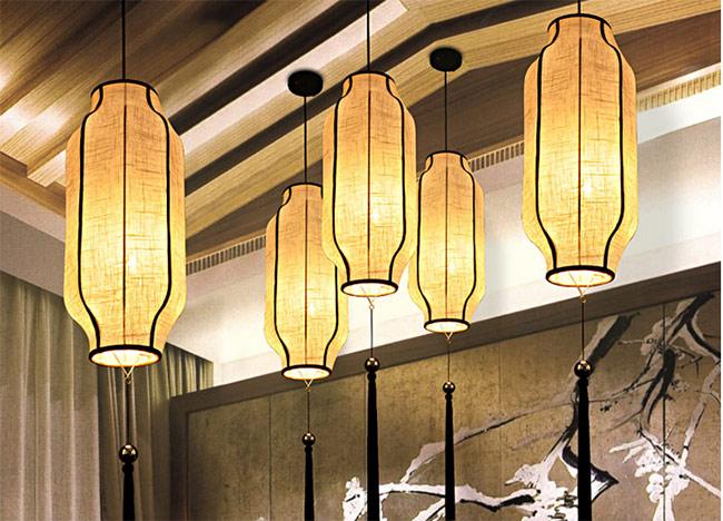 新中式风格装修灯具的特点