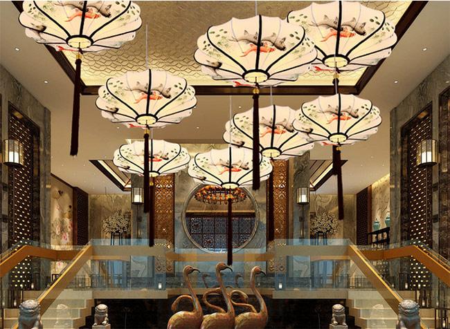 新中式灯具丰富了传统灯具的设计